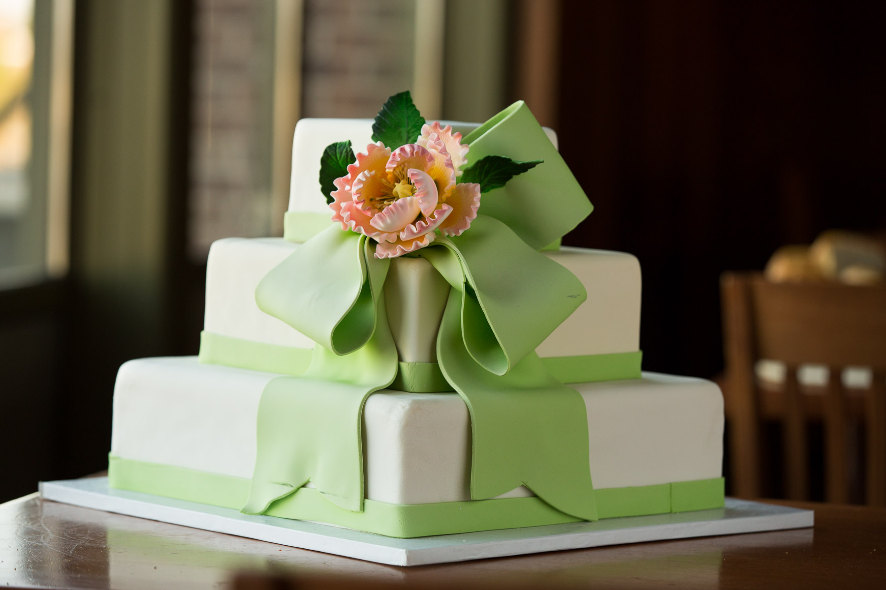 Upstream Wedding Cake