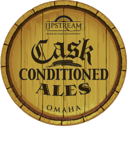 Beer label for Cask Conditioned Ales