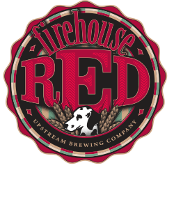 Beer label for Firehouse Red Lager