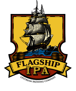 Beer label for Flagship IPA